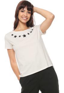 Camiseta Fiveblu Caviar Off-White