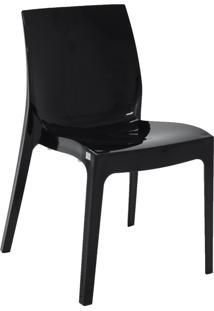 Cadeira Alice Preta Encosto Fechado 92037009 Tramontina