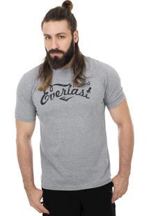 Camiseta Everlast Originals-Gg-Mescla