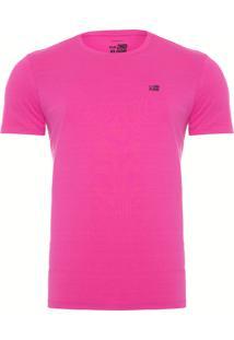 Camiseta Masculina Basic - Rosa