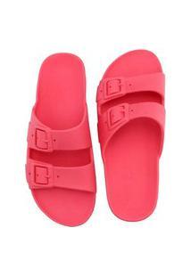 Sandália Birken Rasteira De Borracha Ravy Store Conforto Pink
