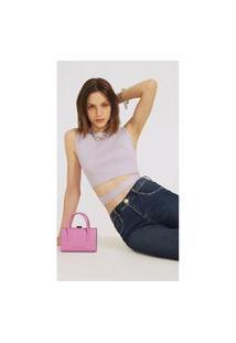 Calça Morena Rosa Skinny Andreia Cós Intermediário Abertura Barra Jeans