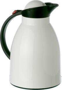 Garrafa Térmica Helios Branca E Preta 1 L