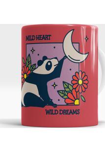 Caneca Mild Heart Wild Dreams