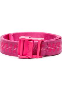 Off-White Cinto 'Industrial' - Rosa