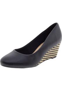 Sapato Feminino Anabela Beira Rio - 4791200 Preto