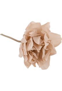 Erika Cavallini Broche Floral - Neutro