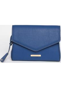 Bolsa Com Lapela & Tag - Azul - 21X25X11Cmloucos E Santos
