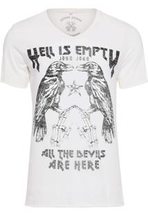 T-Shirt Rg Empty Hell - Off White