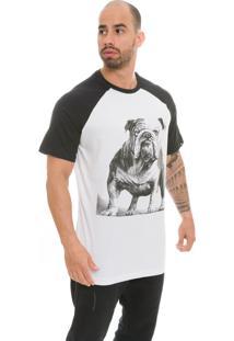 Camiseta Raglan The Garage Custom Tees Bulldogg