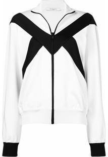 Givenchy Jaqueta Bomber Com Zíper - Branco