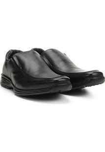 Sapato Social Couro Walkabout Prado - Masculino-Preto