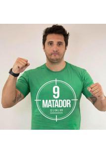 Camiseta Zé Carretilha - Verdão - Matador - Verde - Masculino - Masculino