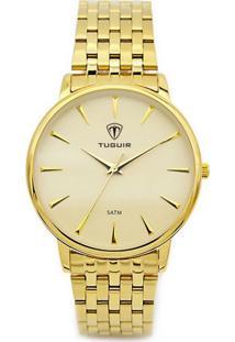 Relógio Tuguir Analógico 5041 Dourado