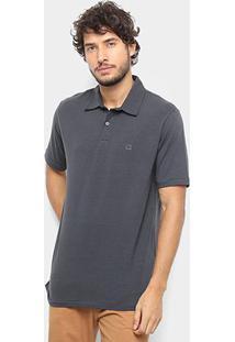 Camisa Polo Hang Loose Basic Masculina - Masculino-Grafite