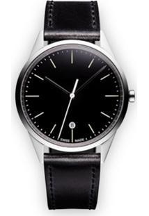 Uniform Wares Relógio Analógico 'C36 Date' - Preto