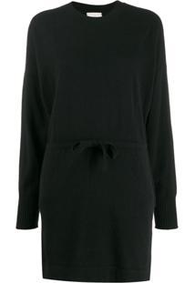Le Kasha Vestido De Tricô Japan - Preto