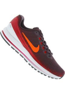 Tênis Nike Zoom Vomero 13 - Masculino - Vinho/Laranja