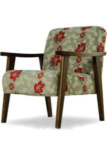 Poltrona Vitória - Floral - Tommy Design