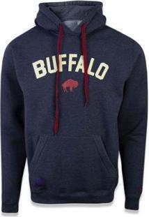 Moletom Canguru Fechado Buffalo Bills Nfl New Era - Masculino