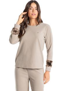 Pijama Longo Em Microsoft Gisela