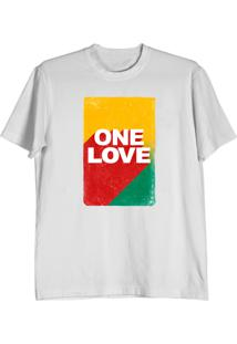 Camiseta Cnx Clothing One Love Branca