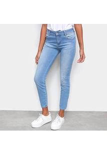 Calça Jeans Skinny Colcci Estonada Feminina - Feminino
