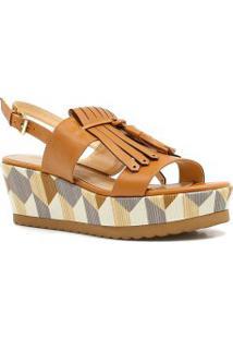 Sandália Zariff Shoes Plataforma Barbicacho