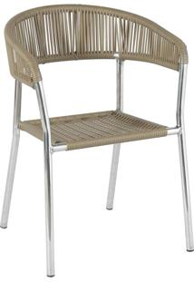 Cadeira De Alumínio P402 Paris Verde - Alegro Móveis