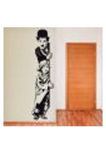 Adesivo De Parede Charlie Chaplin The Kid - Eg 192X40Cm