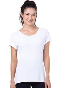 Camiseta Baby Look Branco | 598.822