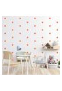 Adesivo Decorativo De Parede - Kit Com 135 Flores - 013Kab09