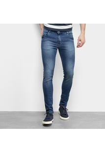 Calça Jeans Ecxo Masculino-5058 - Masculino-Azul