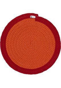 Jogo Americano Orbis Uniborder Orange 4 6 Pecas - 36X36