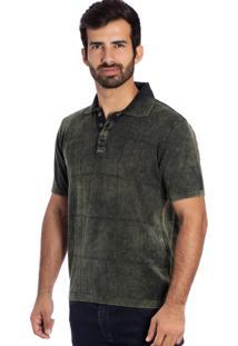 Camisa Polo Frames Le Tisserand Verde Stone