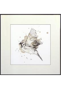 Quadro Decorativo Bird Study