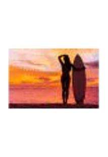 Painel Adesivo De Parede - Surf - Surfista - 991Pnm