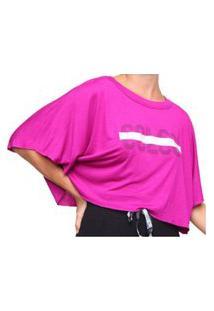 Camiseta Feminina Rosa Colcci 034.57.00228