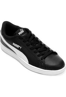 Netshoes. Tênis Couro Puma Smash V2 L Masculino ... a3251a34d8023
