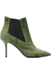 Premiata Ankle Boot 'M4621' De Couro - Green
