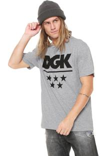Camiseta Dgk All Star Cinza