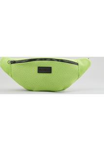 Pochete Blueman Verde Neon - Único