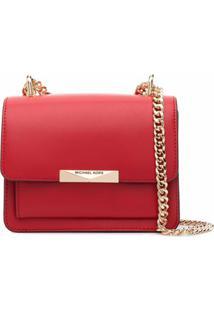 Michael Michael Kors Jade Shoulder Bag - Vermelho