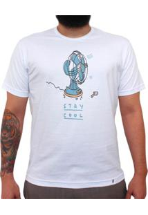 Stay Cool - Camiseta Clássica Masculina