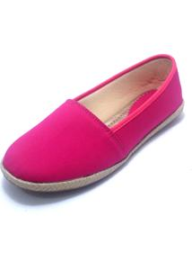 Alpargata G Shoes Lona Rosa