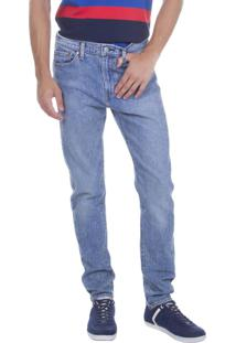 Calça Jeans Levis Masculina 510 Skinny 4 Way Stretch Azul Média Azul