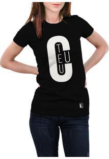 Camiseta Hunter Teu Preta
