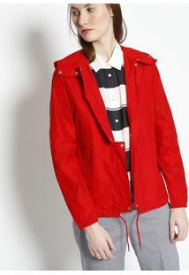 Jaqueta Com Ajuste Interno- Vermelhalacoste