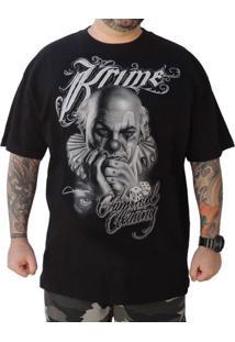 Camiseta Krime Clothing Clown Preta
