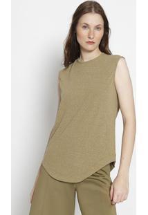 Blusa E-Fabrics Em Pet Reciclado - Verde Militarosklen